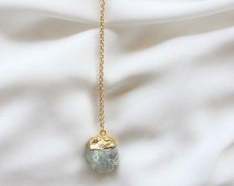 Druzy necklace | Mint
