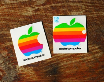 Vintage Early 80s Apple Computer Sticker LAST ONE