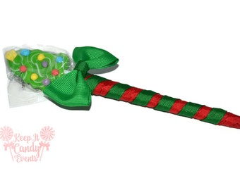 Christmas Tree Lollipop Pen, Christmas Lollipop Pen, Christmas Favor, Stocking Stuffer, Black Friday, Cyber Monday, Christmas
