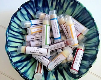 3 Lip Balm Assortment - Lip Balm - Natural Lip Balm-All Natural Lip Balm-Shower Favors-Gifts for Him-Gifts for Her-Teacher Gifts-Nurse Gifts