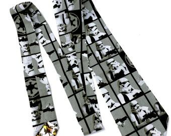 Star Wars Stormtrooper necktie