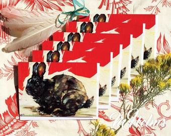 Note Card Set: Midnight Rabbit