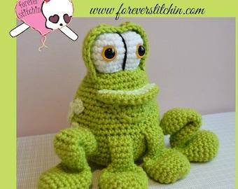 Farley the Frog Amigurumi
