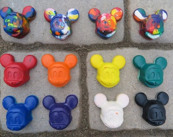 Mickey Mouse Inspired Crayons