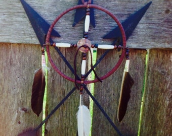 Native American made Medicine Wheel