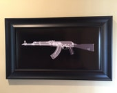 AK-47 CAT scan gun print - rea...