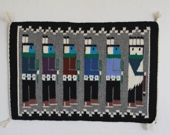 Authentic Hand Woven Navajo Wool Rug/Wallhanging