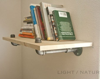 Reclaimed wood shelves / Wall shelves / Book shelves / Genuine Reclaimed Wood Shelf - Shelves - Wood Floating Shelf - Floating Shelves