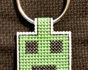 Minecraft Inspired Keychain