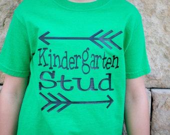 Kindergarten Stud - Child's Tshirt
