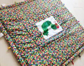 The very hungry caterpillar baby quilt playmat