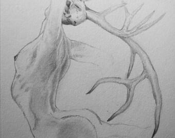 Dance - original sketch/drawing