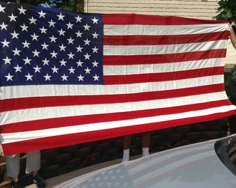Vintage Valley forge Bunting 50 Star American Flag. Valley Forge 58x115