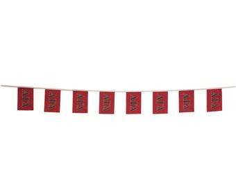 alpha gamma delta letter design 10ft fiesta flags