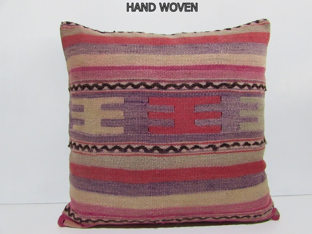 kilim pillow 24x24 large floor cushion moroccan floor cushion
