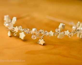 Star Jewelled Tiara Headband