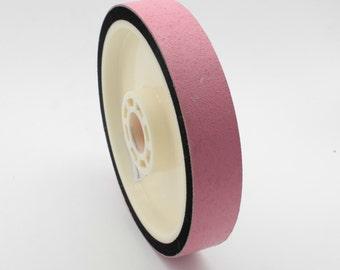 "6""x1""x1.5"" Lapidary Glass Resin Soft Wheel -8000Grit"