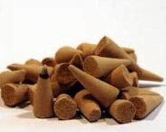 Sandlewood incense cones 50
