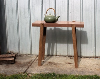 jarrah/tasmanian oak entry hall /side table