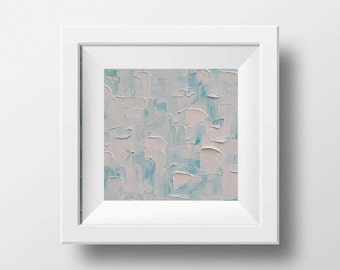 Abstract Print, Abstract Art, 12x12, Coastal Decor, Beach Art, Art Print, Abstract, Beach Decor, Palette Knife, Modern Art, Coastal Art