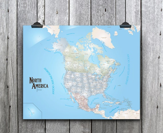 North America Magnetic Push Pin Travel Map Pushpin Map US - Us magnetic travel map