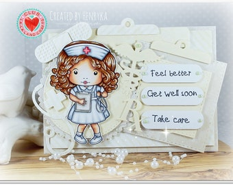 OOAK La-La Land Get Well Card