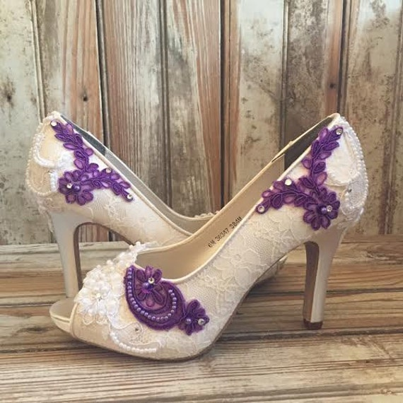 Permalink to Ivory Color Wedding Shoes