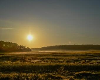 newbury, marsh, sunrise, wetlands, north shore, new england, fine art photography, landscapes, marshland