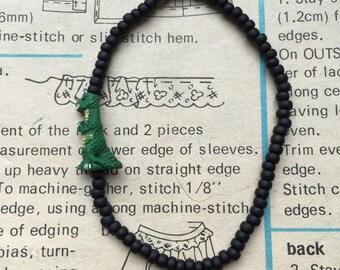 Dinosaur Beaded Bracelet