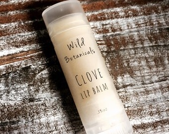 Clove Lip Balm, All Natural