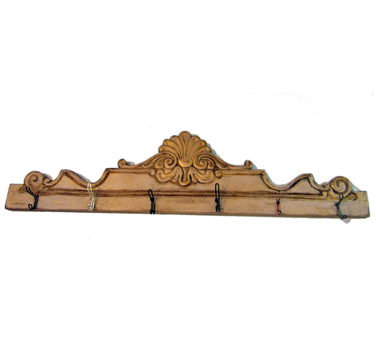 Shabby Chic Coat Rack Clothes Hook Vintage Wall Hook Rack On