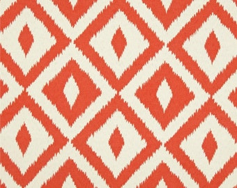 Fabric by the Yard  Indoor/Outdoor Aztec Coral
