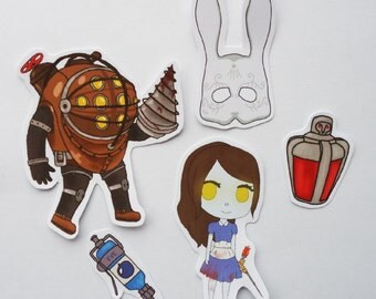 Bioshock Sticker Pack