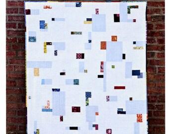Pixel Pop Empty Bobbin Modern Quilt Pattern
