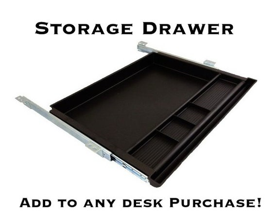 storage drawer add on to any desk purchase pencil drawer from arcandtimber on etsy studio. Black Bedroom Furniture Sets. Home Design Ideas