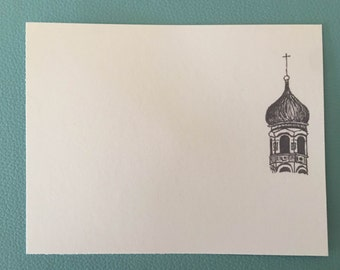 9 pack Russian Spire Greeting Card