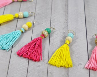 Planner Tassels with Glitter Accents