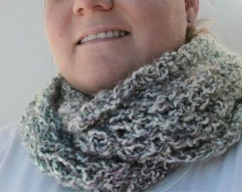 Petite Crochet Infinity Scarf