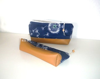 Cosmetic bag, pencil case, pencil cases