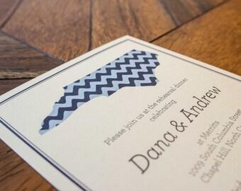 North Carolina State Rehearsal Dinner Digital Invitation Package