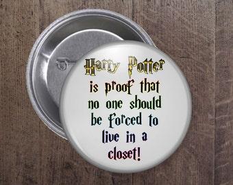 Harry Potter button