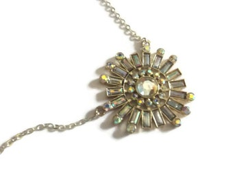 One-Of-A-Kind Recycled Medium 'Sunburst' Necklace