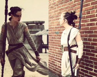 RUSH FEE ONLY for Rey's Staff from The Force Awakens