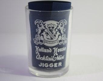 Vintage 1950's Holland House Jigger- Anchor Hocking