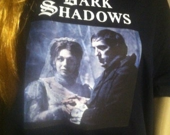 Dark Shadows Barnabas and Josette t-shirt, v-neck and tank top