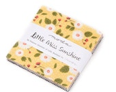 Charm Pack - Little Miss Sunshine by Lella Boutique - Moda Fabrics - (5020PP)