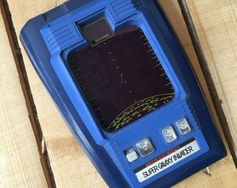 Vintage 70s 80s Bandai Electronics Super Galaxy Invader Handheld Electronic Video Game