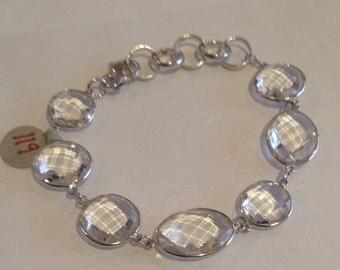 Sparkling Crystal Quartz Bracelet