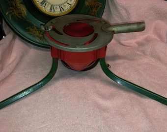 Super cool antique christmas tree stand