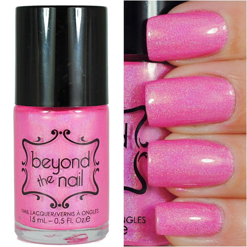 Hot Pink Galaxy Nail Products
